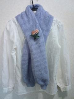 マーガレット3 編み物