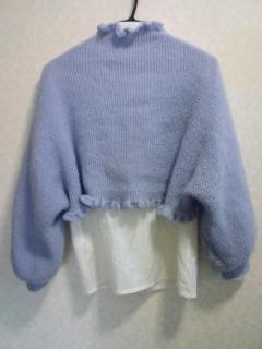 マーガレット2 編み物