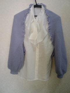 マーガレット1 編み物
