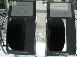 GT-Rニュルアタック時のタイヤ写真