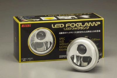 小糸製作所LEDフォグランプの写真