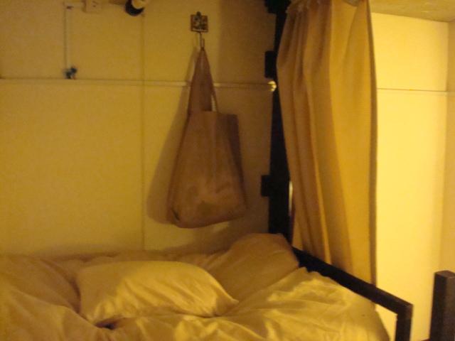 ドミトリーの寝床