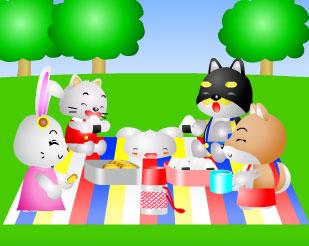 間違い探し ピクニック