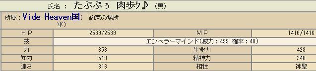 能力値3182