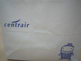 セントレアの紙袋