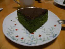 抹茶ケーキ100105