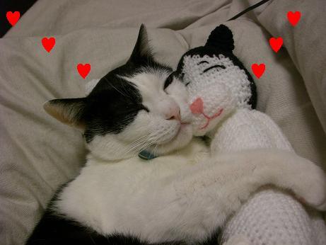 グフフフフ~~ン!僕たち愛し合ってま~す!