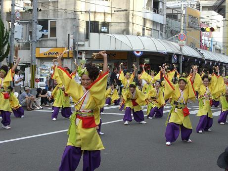 2008 よさこい祭り2