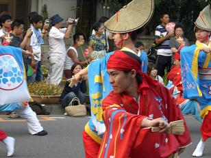 2008 よさこい祭り3