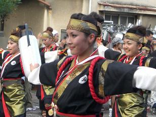 2008 よさこい祭り4