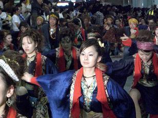 2008 よさこい祭り10
