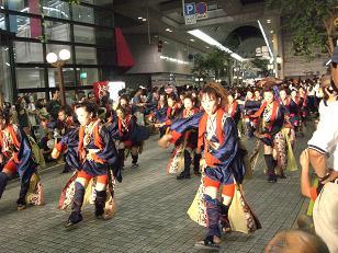 2008 よさこい祭り11