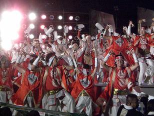 2008 よさこい祭り13