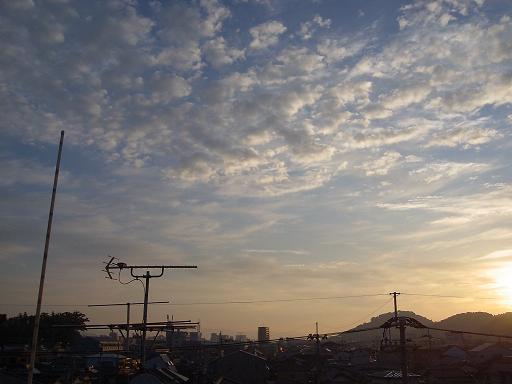 10月20日高知の朝