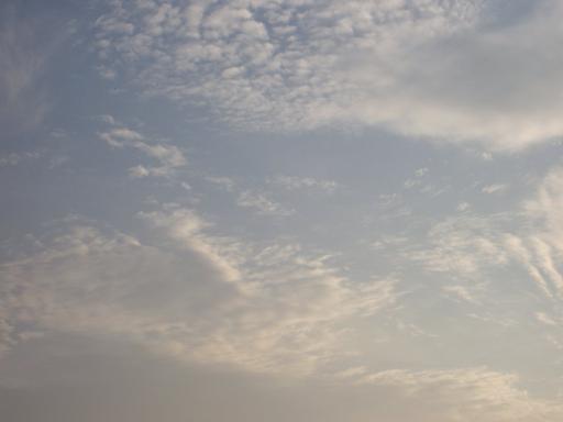 10月22日高知の空です