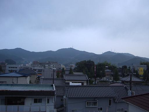 10月23日の高知の空でーす