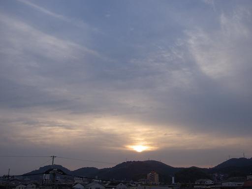 10月31日高知の空で~す