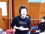 上川さん 熱唱