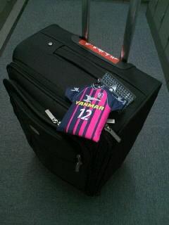 セレッソ愛スーツケース