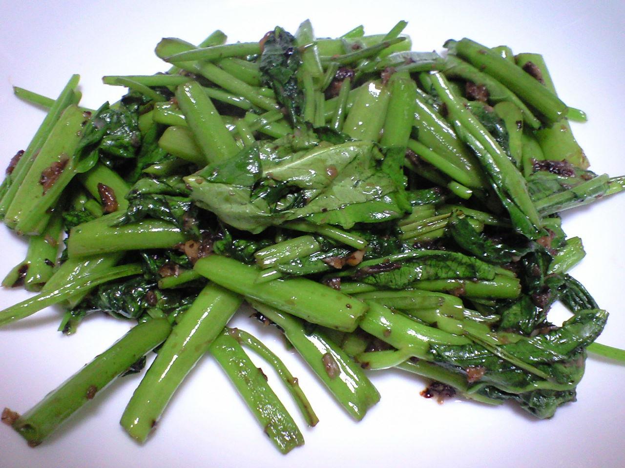 空心菜の炒め物Ⅱ