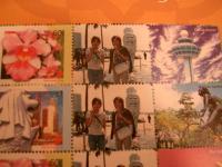 切手のアップ