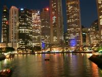 Singaporeの夜景