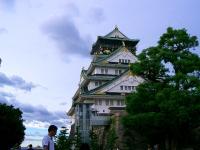 大阪城いい感じ