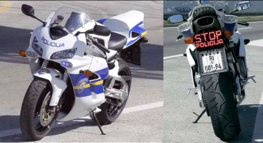 croatia police bike