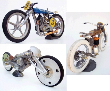 art motorcycle