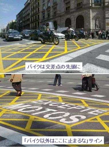 bike stop area