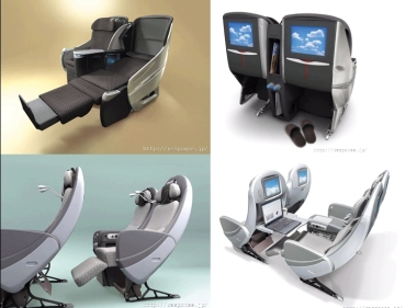 jal new seat