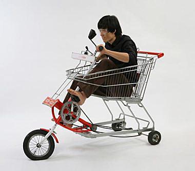... ニュース 買い物カート自転車