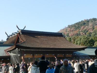 橿原神宮正月
