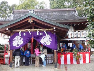 三輪坐恵比須神社の初恵比須