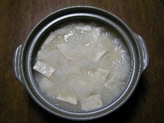ダイコン鍋