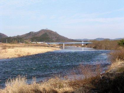 由良川の流れ