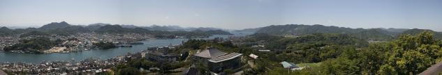 千光寺公園展望台パノラマ