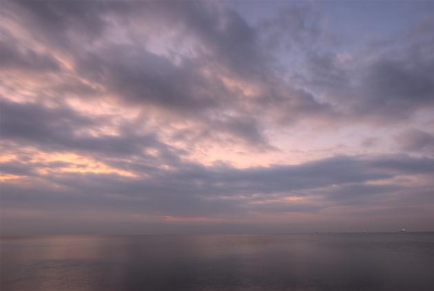 若洲海浜公園の朝