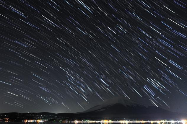 山中湖星撮り