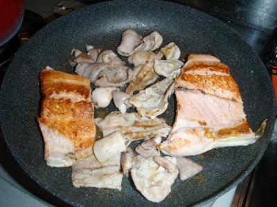鮭ホルモン