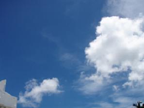 沖縄の青空