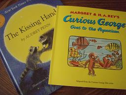 The Kissing hand, Curious George