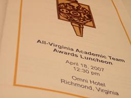 All Virginia academic awards