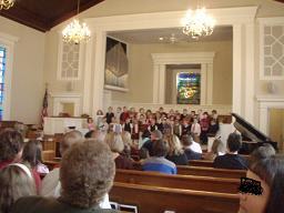 教会にて2007年11月
