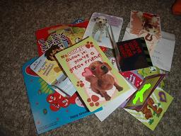 2008年バレンタインのカード