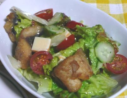 ワラサのマリネ風サラダ