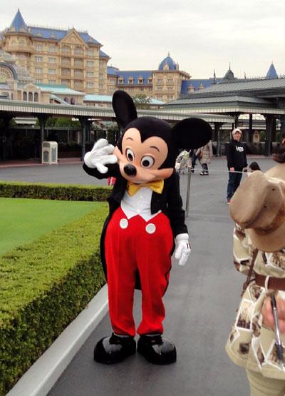 初対面Mickey