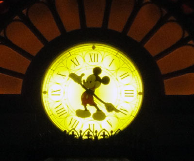 ミッキー時計