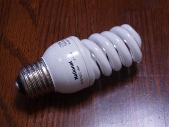 新品う○こ型蛍光管電球