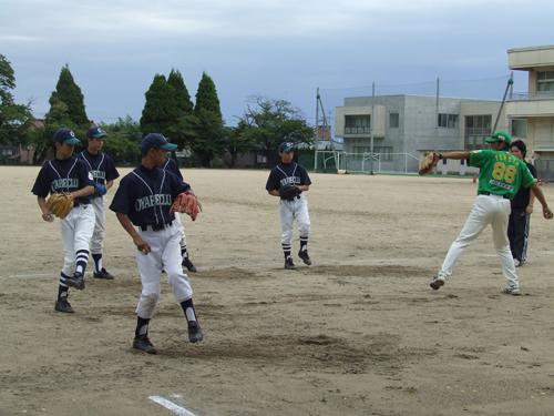 サンダーバーズ野球教室